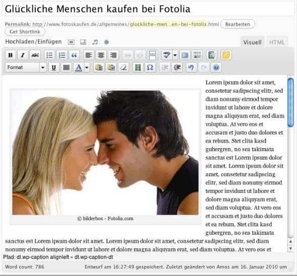 Fotolia Fotos per Microstock Photo Plugin in Ihren Blog integrieren - microstockphoto beitrag thumb