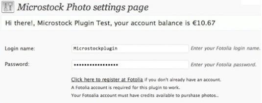 Fotolia Fotos per Microstock Photo Plugin in Ihren Blog integrieren - screenshot 4 thumb