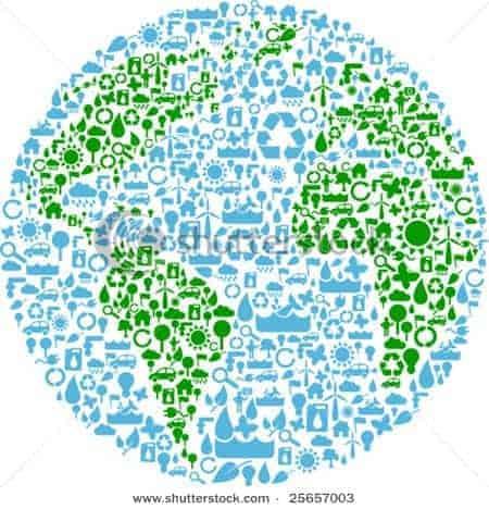Shutterstock jetzt mit 1.6 Millionen Vektor-Grafiken - stock vector earth 25657003