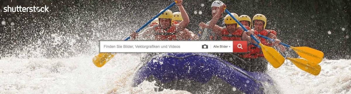 Shutterstock Testbericht, Preise & Erfahrungen - shutterstock bildsuche