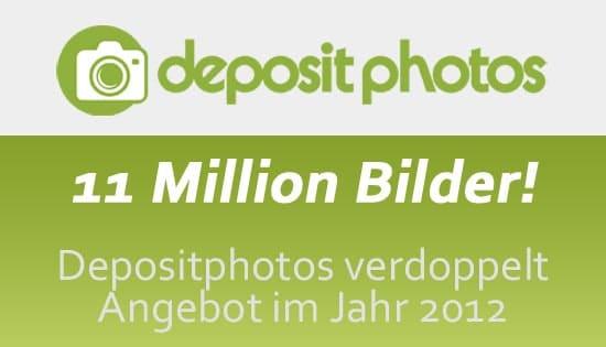 Depositphotos 11 Millionen