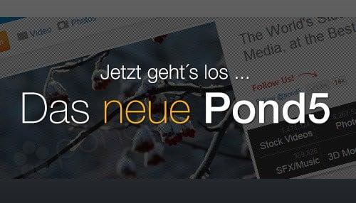 Pond5 bietet neue und schnellere Webseite für Video-, Audio- und Fotokauf - neue pond5