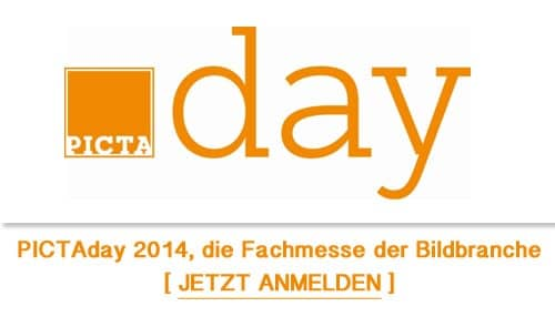 PICTAday 2014 in München - Fachmesse der Bilderbranche - pictaday 2014