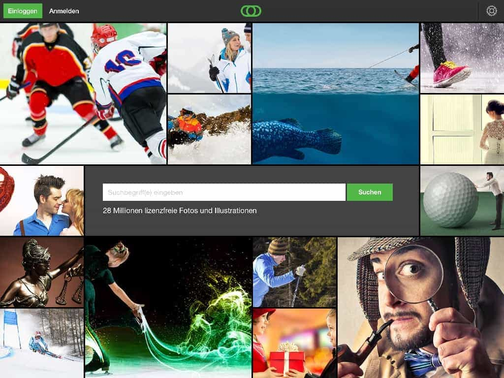 Fotolia veröffentlicht eigene iPad App - Fotolia iPadApp Homescreen