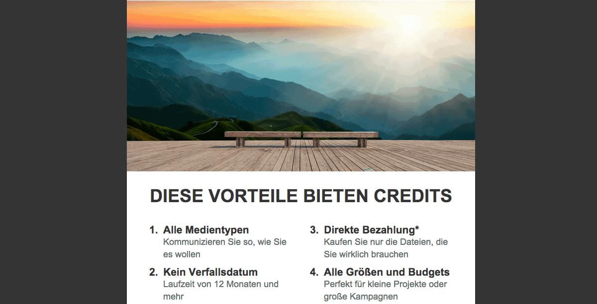 iStock Credits neu mit automatischer Verlängerung - iStock CreditNewsletter