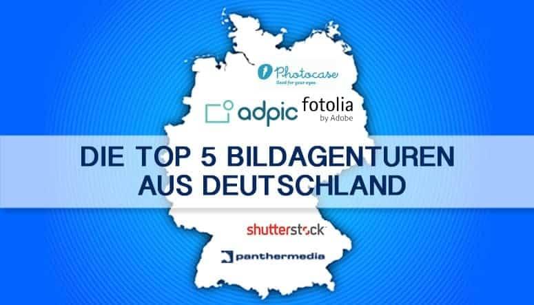 Top 5 Bildagenturen Deutschland