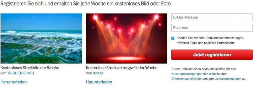Shutterstock Preise im Überblick und Vergleich - fotoskaufen shutterstock gratis bilder