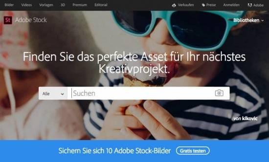 Die Top 5 Bildagenturen aus Deutschland - fotoskaufen adobestock bild beitrag