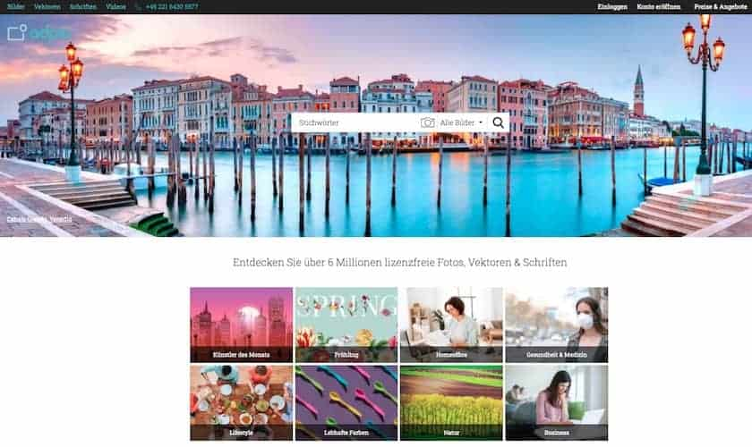 adpic Testbericht & Preise - fotoskaufen adpic seite