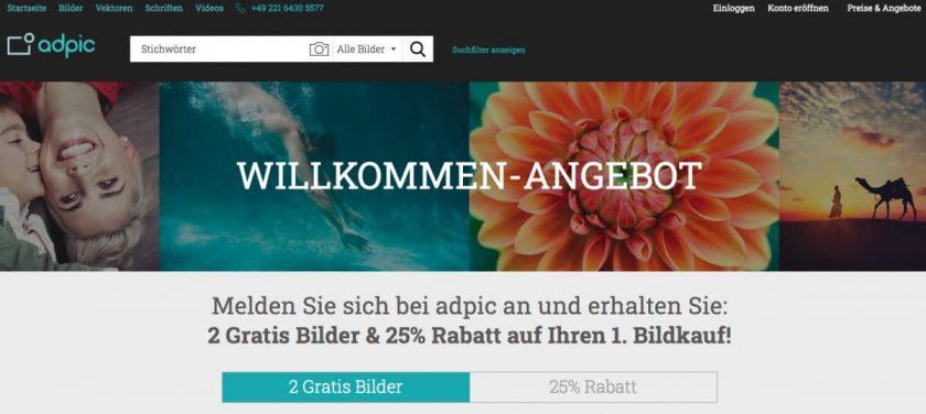Willkommen-Angebot 2 Gratis Bilder von adpic