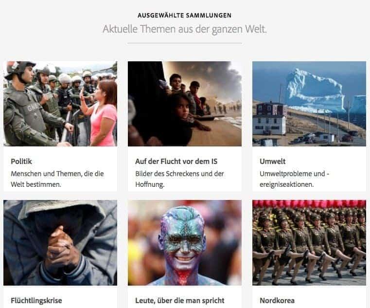 Was sind redaktionelle Bilder und wo kann man sie kaufen? - adobe editorial