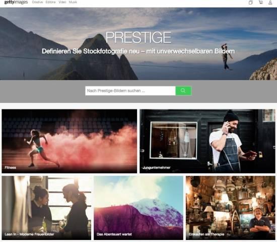 Die fünf besten Bildagenturen, um Premium Bilder zu kaufen! - fotoskaufen getty prestigebilder