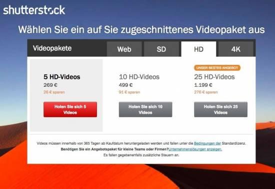 Lizenzfreie Videos und Stock Footage im Überblick - fotoskaufen shutterstock videopreise