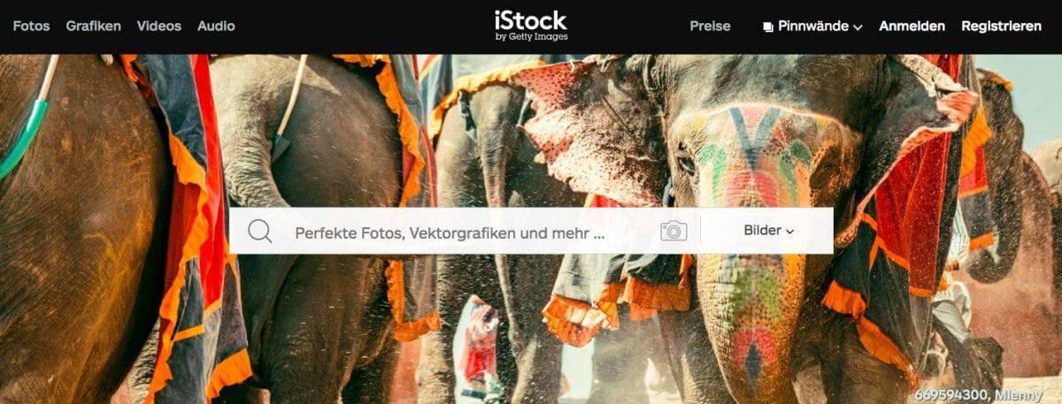 iStock by Getty Images - fotoskaufen istock website