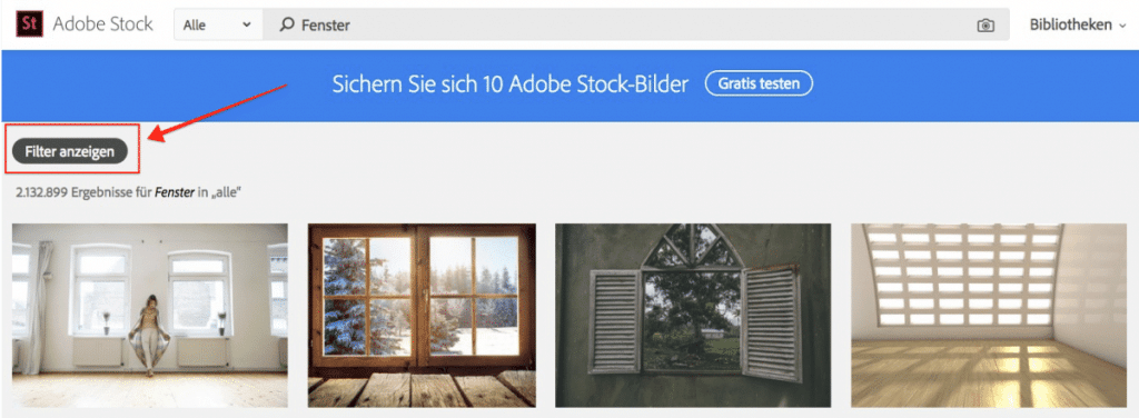 Adobe Stock - fotoskaufen adobestock bildsuche