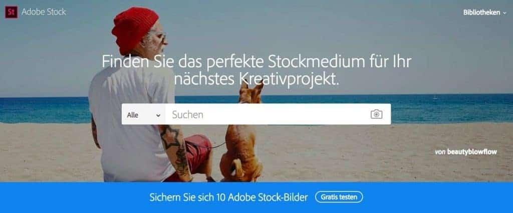 Adobe Stock - fotoskaufen adobestock website