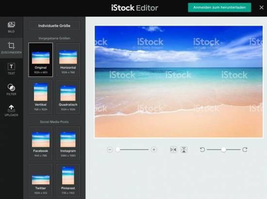 iStock Aktionscode & Gutscheincodes - fotoskaufen istock editor