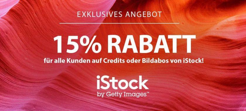 iStock Gutschein