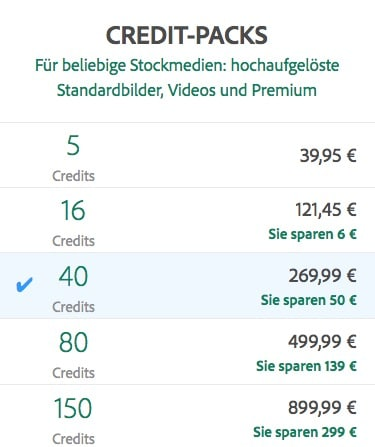 Credits von adobe stock