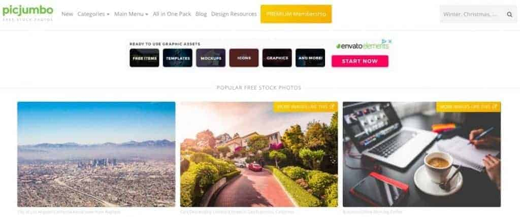 webseite picjumbo
