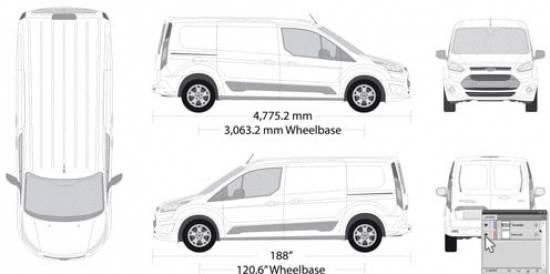 Fahrzeugvorlage Vorher Illustrator