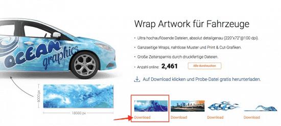 SignSilo - Fahrzeugvorlagen, Grafiken und Fotos für die Beschriftungsbranche - fotoskaufen signsilo download probedatei
