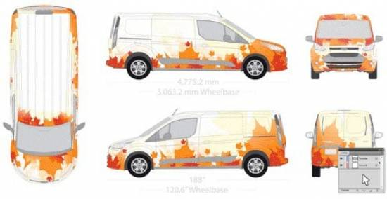 Fahrzeugvorlage Nachher Illustrator