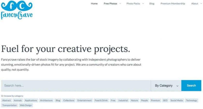 Webseite fancycrave