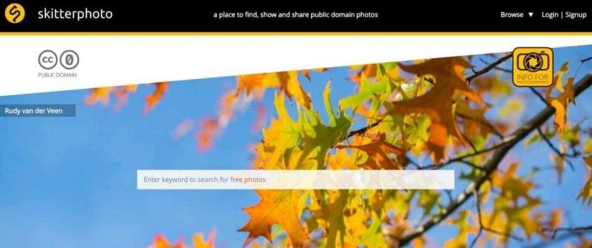 Webseite skitterphoto