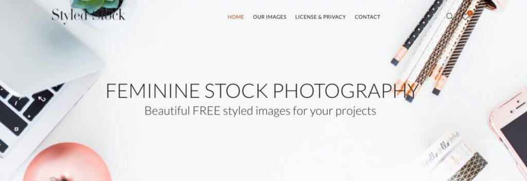 styledstock webseite