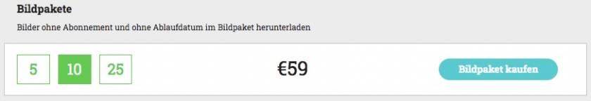 Preise Bildpakete von adpic