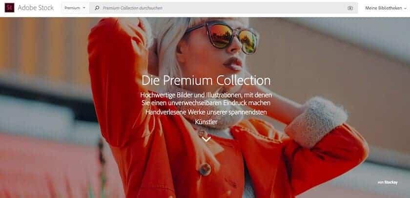 Plainpicture Alternativen - fotoskaufen adobestock premium