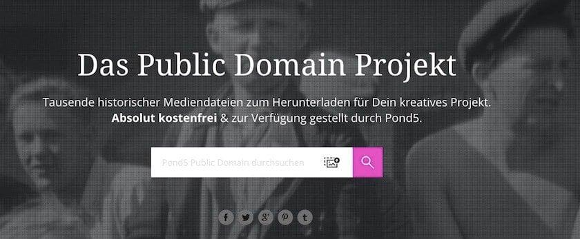 Historische Fotos kaufen - wo? - fotoskaufen pond5 website