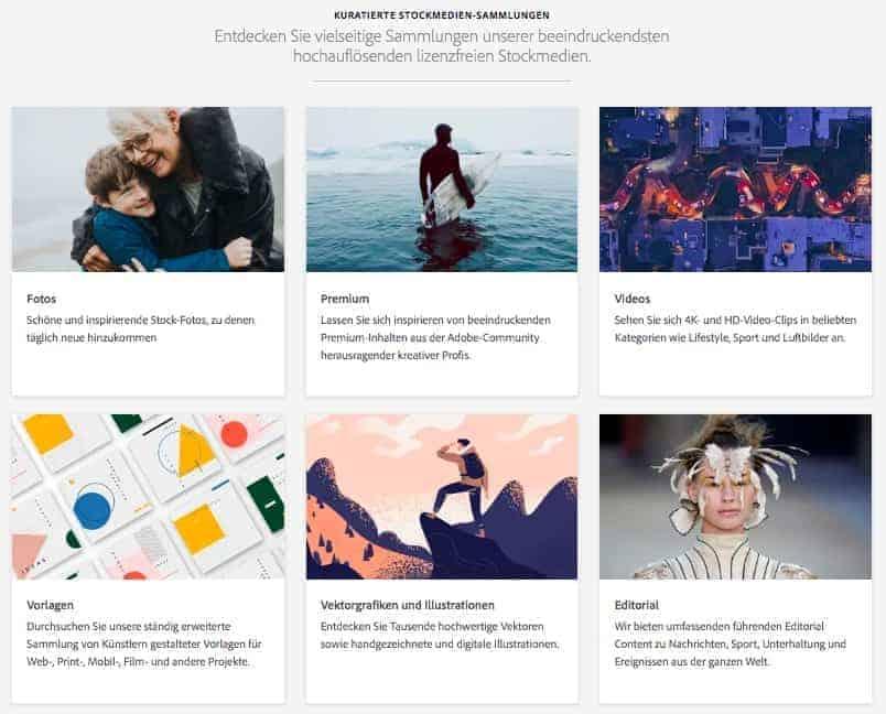 Galerien von Adobe Stock