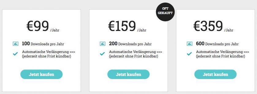Shutterstock Alternative Jahresabo von adpic