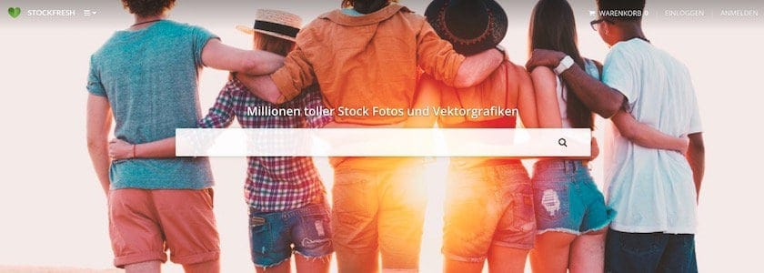 homepage stockfresh