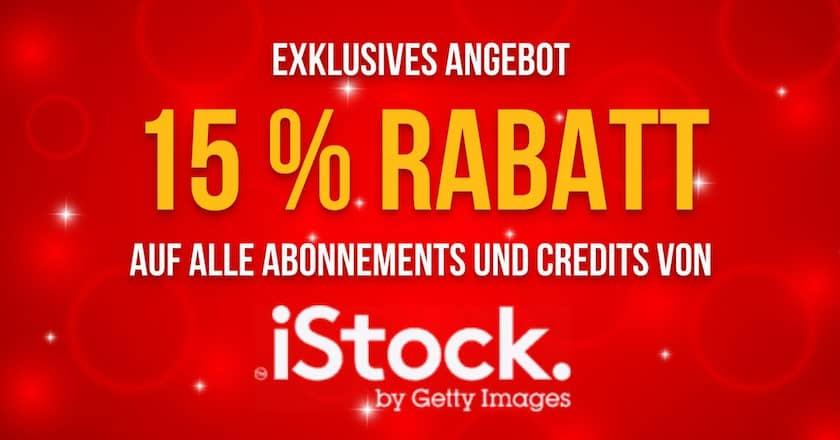 iStock Aktionscode & Gutscheincodes - 15 exklusiver rabatt istock
