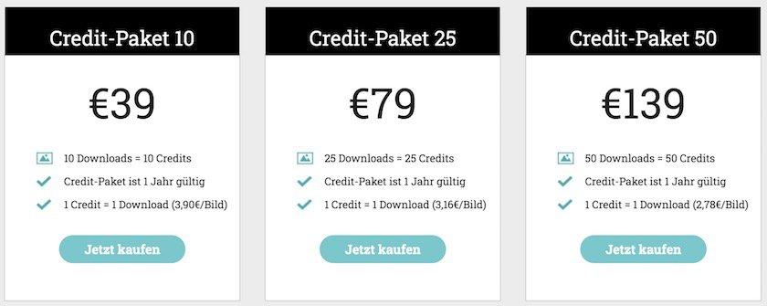 Credit-Paket-Preise adpic