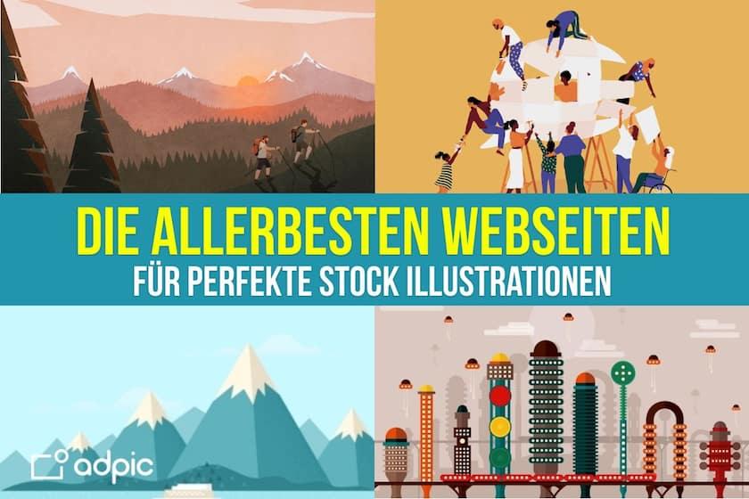 Die 6 besten Webseiten, um perfekte Stock Illustrationen zu kaufen! - allerbesten webseiten für perfekte stock illustrationen