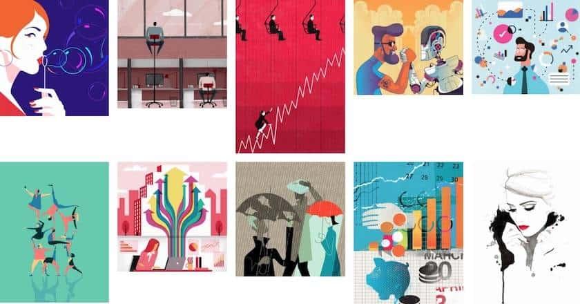 Illustrationen von Ikon Images