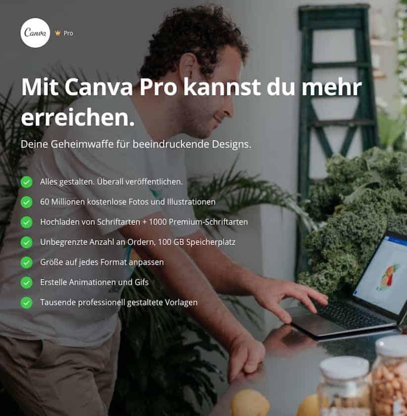 Canva Kosten: Lohnt sich Canva Pro? Finden Sie es heraus! - Canva Pro Vorteile