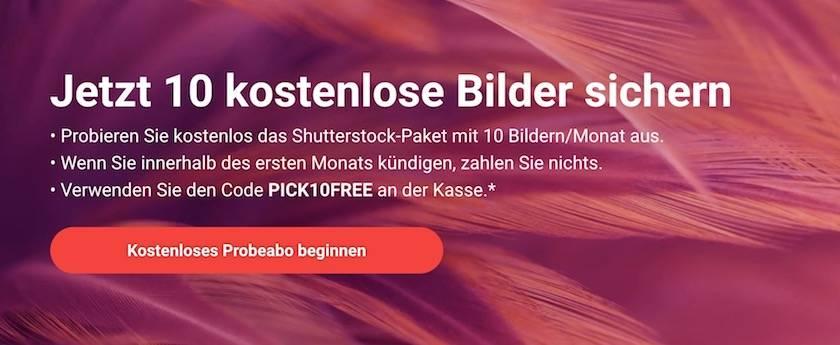 Adobe Stock Fotos kostenlos - shutterstock pro abo