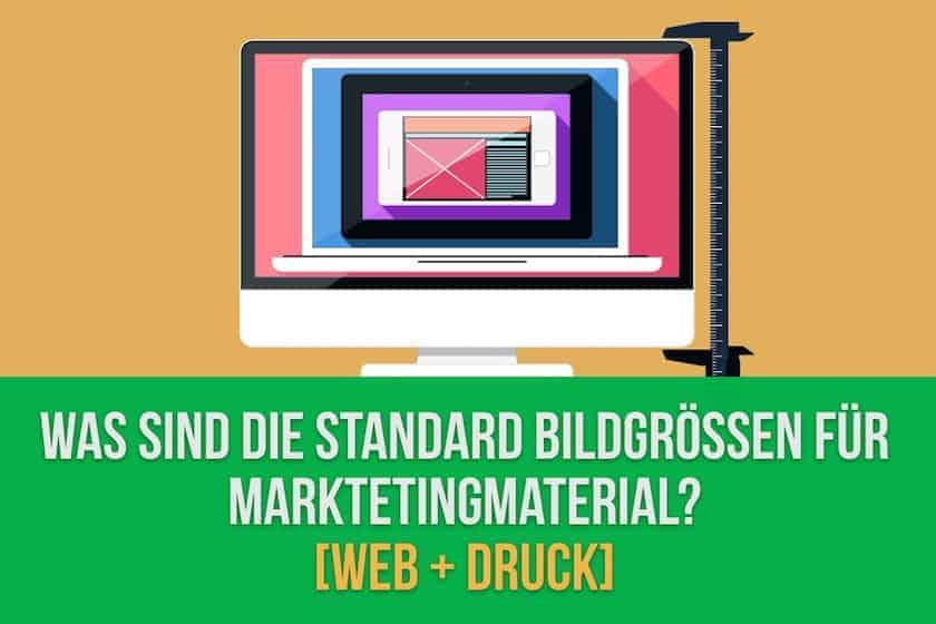 Was sind die Standard Bildgrößen für Marketingmaterial? [Web + Druck] - standard fotogrössen druck web