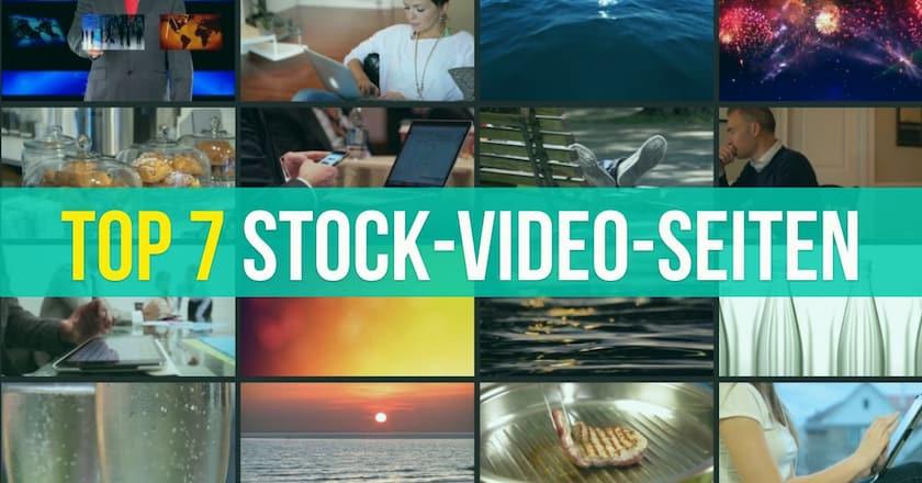 Top 7 Stock-Video-Seiten, um Videoclips zu kaufen - 7 top stock video seiten