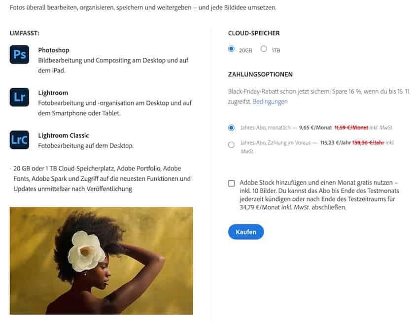 Adobe Creative Cloud Preise erklärt: Finden Sie  das passende Angebot für sich - adobe creative cloud fotoabo