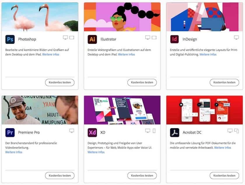 Adobe Creative Cloud Preise erklärt: Finden Sie  das passende Angebot für sich - adobe creative cloud programme