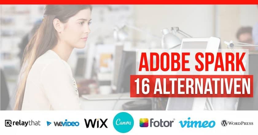 16 Adobe Spark-Alternativen 2021 für Grafiken, Webseiten und Video - adobe spark alternativen 1