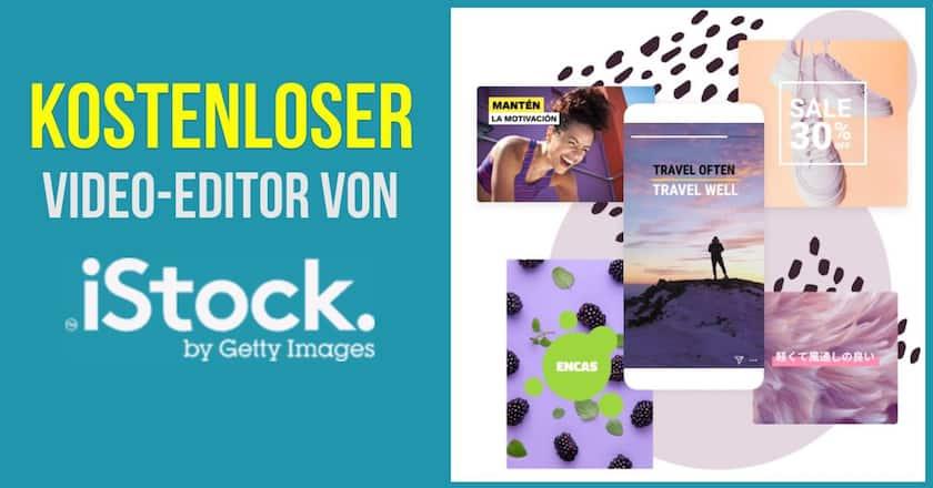 """NEU: Kostenfreier iStock-Video-Editor und neues Abo """"Premium + Video"""" - video editor istock kostenlos"""
