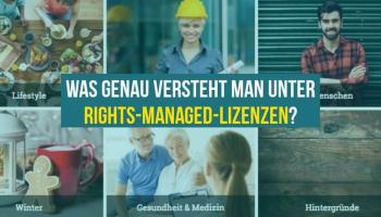 Was genau versteht man unter Rights-Managed-Lizenzen?