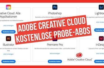 Adobe Creative Cloud: Probe-Abos und spezielle Angebote